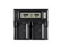NEWELL Зарядное устройство LCD Dual Зарядное устройство для BP-511