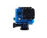 REDLEAF водонепроницаемый чехол для GOPRO HERO3 HERO4 синяя