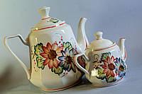 Чайная пара Красный цветок