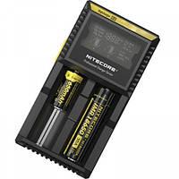 Универсальное зарядное устройство Nitecore Digicharger D2 для аккумуляторов, фото 1