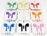 Гарнитура Apple EarPods для iPhone 5, mix color