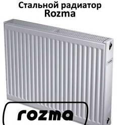 Радиаторы Rozma тип 22 Высота 500мм (Боковое и нижнее подключение)