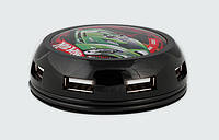 USB-хаб MODECOM UFO HUB HOT WHEELS