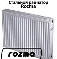 Радиатор стальной с нижн. подкл. 22VК 500х500 Rozma (Украина)