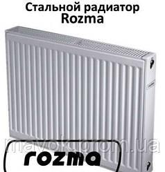 Радиатор стальной с бок. подкл. 22К 500х400 Rozma (Украина)