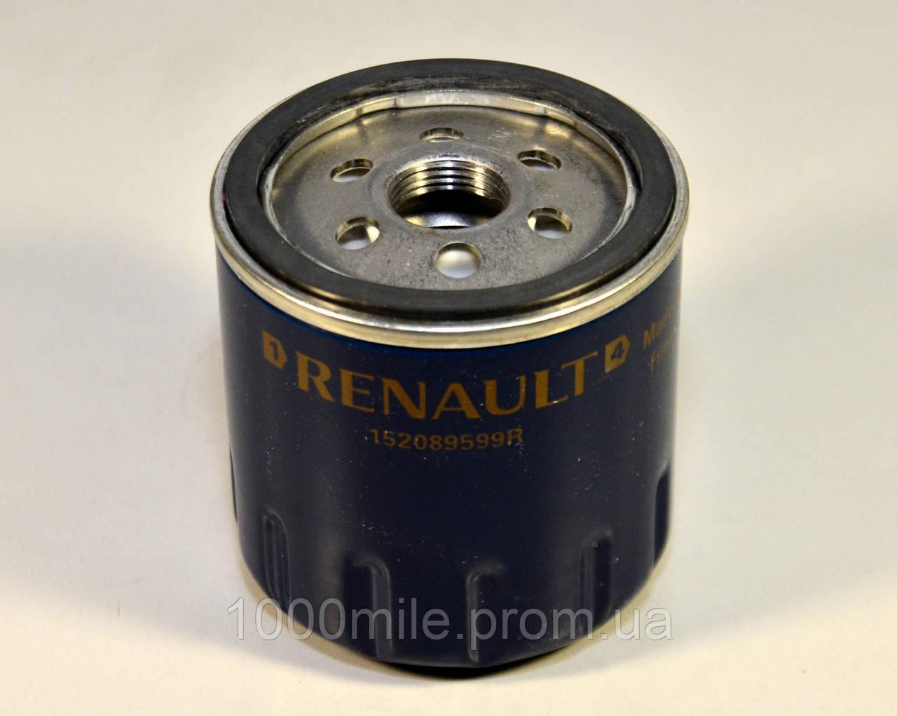 Фильтр масла на Renault Kangoo II 2013-> 1.5dCi — RENAULT (Оригинал) - 152089599R