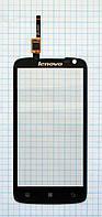 Тачскрин сенсорное стекло для Lenovo S820 black