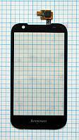 Тачскрин сенсорное стекло для Lenovo S686 black