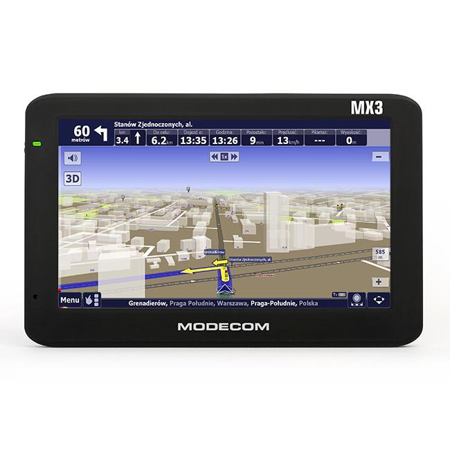 GPS - навигатор MODECOM FREEWAY MX3