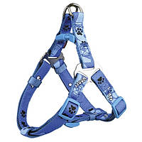15233 Trixie Шлея Modern Art One Touch Harness Woof, 50-56см/20мм