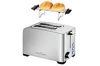 Тостер PROFI COOK PC-TA 1082 850 Вт Хит продаж