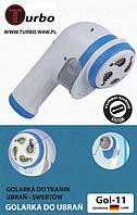 Электрощетка для чистки одежды от катышков  TURBO GOL11