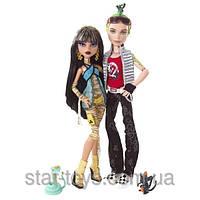 Набор из 2х кукол Монстер Хай Клео де Нил и Дьюс Горгон Monster High Cleo de Nile&Deuce Gorgon