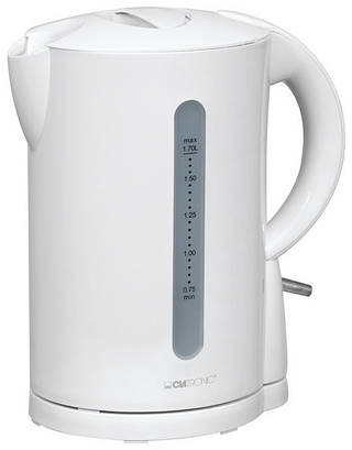 Чайник CLATRONIC WK 3331 белый 1,7 л Германия Хит продаж