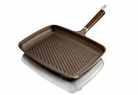 Сковорода для гриля титан 26x35см