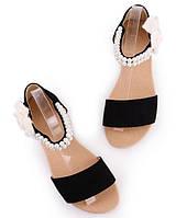Стильные женские босоножки с открытым носком. Оригинальный дизайн. Хорошее качество. Купить онлайн. Код: КД163