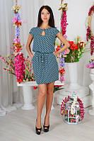 Платье Армани монетки мини цвет мята