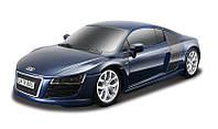 MAISTO TECH Автомодель на радиоуправлении 2009 Audi R8 V10 1:24 синий (81217)