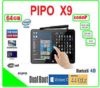 PIPO X9 Android TV BOX + WINDOWS TV BOX + НАСТРОЙКИ I-SMART