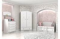 """Модульная комната """"Мишка"""" цвет белый (ТМ Вальтер)"""