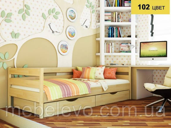 Кровать односпальная Нота 90 670х960х1980мм   Эстелла