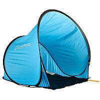Туристическая Палатка-тент голубая одноместная (Быстро раскладывается)