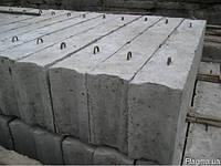Железобетонные фундаментные блоки ФБС: ФБС 24-3-6: 2380х300х580мм