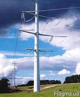 Железобетонные столбы линий электропередач