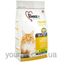 Сухой корм для пожилых или малоактивных котов 1st Choice (Фест Чойс) 2.72кг