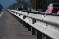 Дорожные ограждения металлические барьерного типа 11МО, 11МД