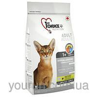 Сухой корм для кошек 1st Choice (Фест Чойс) с уткой и картошкой гипоаллергенный 2.72кг