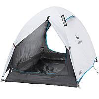 Палатка Arpenaz fresh&black Quechua двухместная, белая