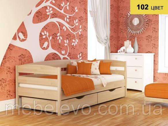 Кровать односпальная Нота Плюс 90 710х960х1980мм   Эстелла