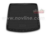 Коврик в багажник Mitsubishi OUTLANDER с 2016-  , цвет:черный , производитель NovLine