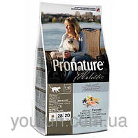 Сухой корм для кошек Pronature Holistic (Пронатюр Холистик) Atlantic Salmon & Brown Rice 2.72кг