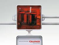 Заливная электромонтажная коробка с легко удаляемым компаундом, с клеммами (5шт, 0,5-2,5кв.мм.)