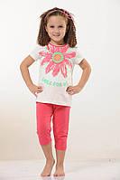 Детская трикотажная пижама  для девочки