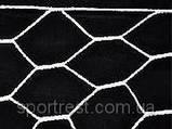 Сетка для футбольных ворот, форма ячейка 6-угольник, размер 6х8 см. Новинка!!!, фото 3