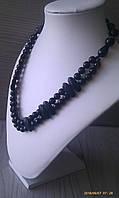 Бусы: «Черный агат»  , фото 1
