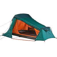 Палатка туристическая Forclaz 2 Quechua двухместная, зеленая