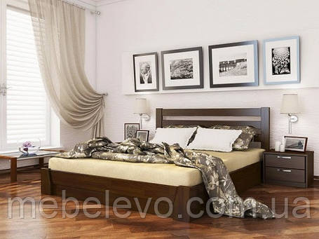 Кровать двуспальная Селена 160 870х1660х1980мм   Эстелла, фото 2