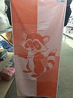 Полотенце махровое ТМ Речицкий текстиль, Енот, 67х40 см