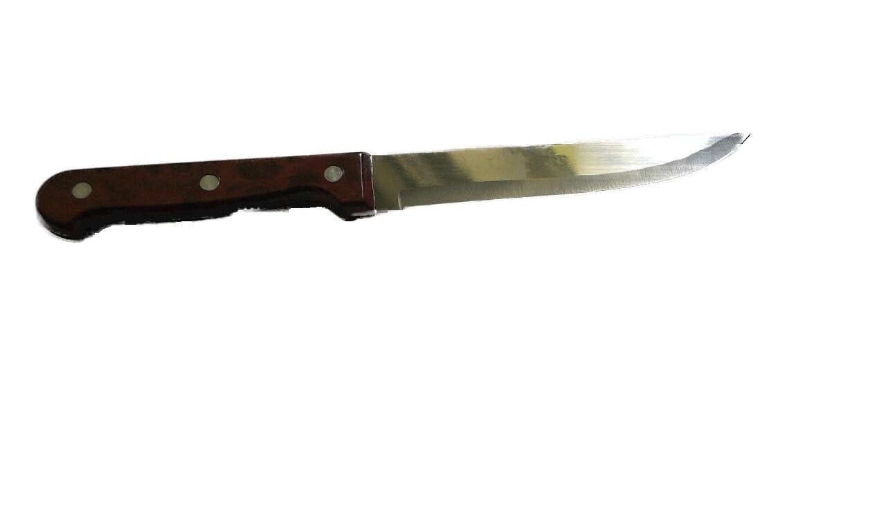 Нож кухонный универсальный с коричневой ручкой (L-270/150 мм) H-14 /859BLH-2
