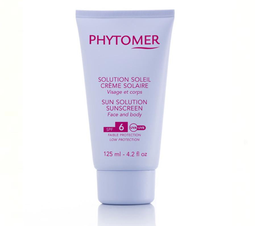 Солнцезащитный крем для лица и тела SPF 6 Phytomer