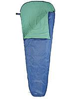 Туристический спальный мешок кокон 75/50х220см