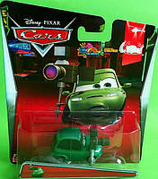 Cars CMX86 W1938 - Деш Бордман -Dash Boardman  из м/ф Тачки 2, Mattel