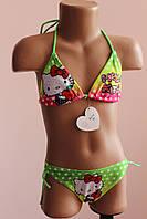 Купальник детский Hello Kitty с яблоком