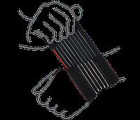 Бандаж на лучезапястный сустав (облегченный) ReMED, (серый/черный)
