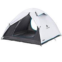 Палатка Arpenaz fresh&black трехместная, белая