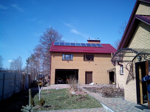 Автономная солнечная электростанция в Украине